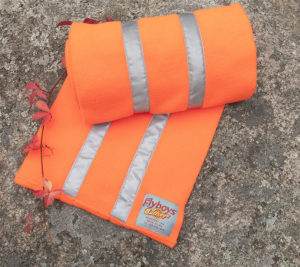 Flyboys Reflective Scarf - Hunter Orange