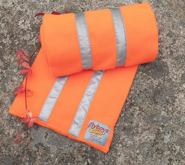 Flyboys Reflective Scarf - Hunter Orange