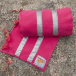 Flyboys Reflective Scarf - Solitaire Pink