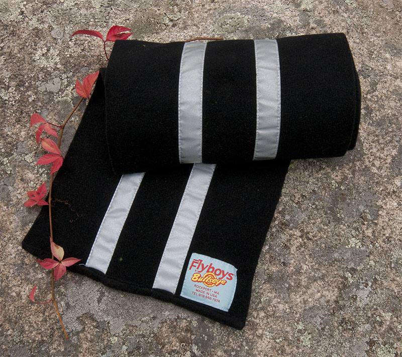Flyboys Reflective Scarf - Black