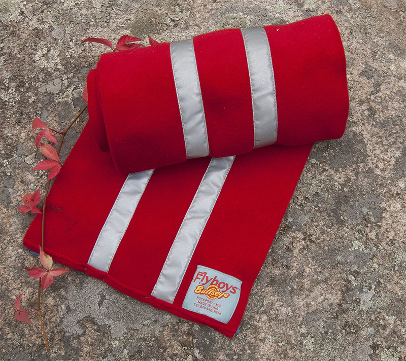 Flyboys Reflective Scarf Red