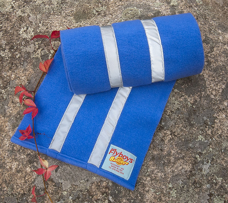 Flyboys Reflective Scarf - Sea Blue